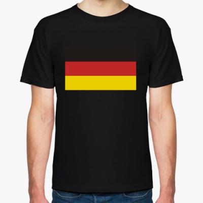 Футболка Немецкий флаг