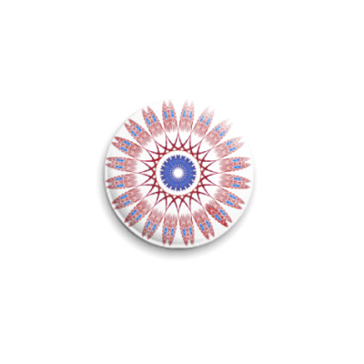 Значок 25мм медальон