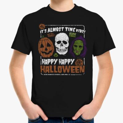 Детская футболка Счастливого Хэллоуина