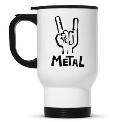 Кружка-термос 'Metal'