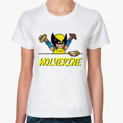 Классическая футболка Росомаха (Логан)
