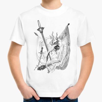Детская футболка Рыцари