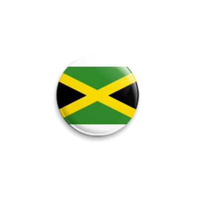 Значок 25мм  Ямайка ()