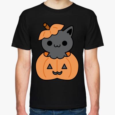 Футболка Pumpkin Cat