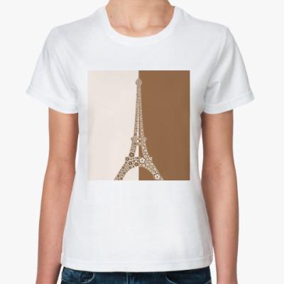 Классическая футболка Париж
