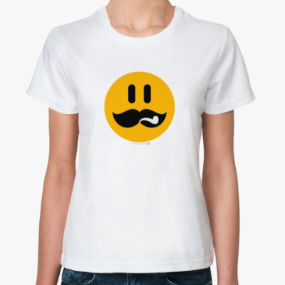 Классическая футболка Сталин смаил.