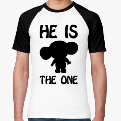 Футболка реглан He is the One