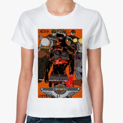 Классическая футболка Christine