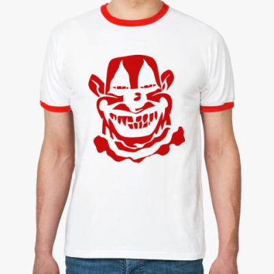 Футболка Ringer-T Злой клоун