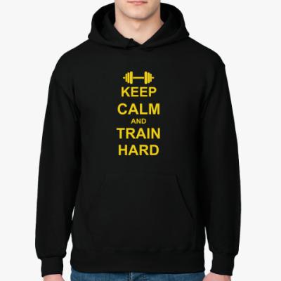 Толстовка худи Train hard