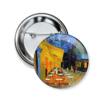 Значок 50мм Vincent van Gogh