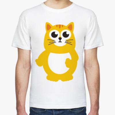 Футболка Жирный кот