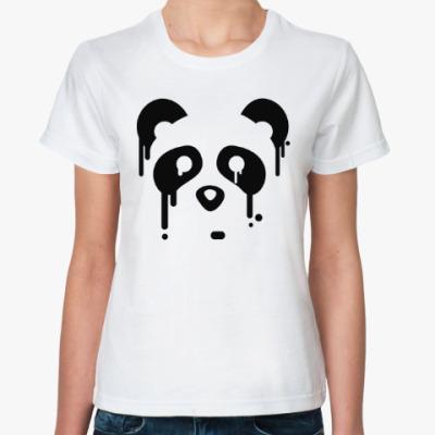 Классическая футболка Унылая панда