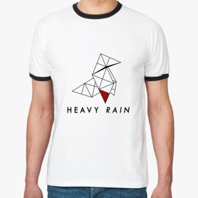 Футболка Ringer-T Heavy Rain