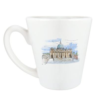 Чашка Латте Ватикан - Собор Святого Петра