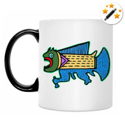 Кружка-хамелеон Рыбка