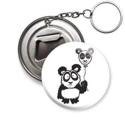 Брелок-открывашка Панда с шариком