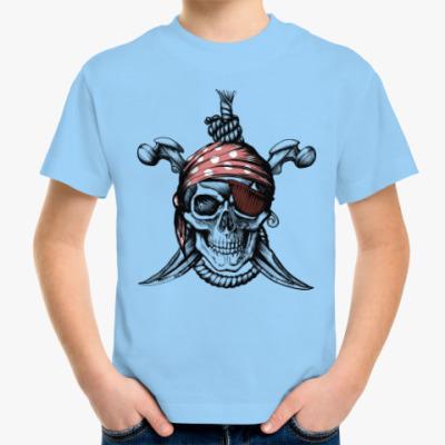 Детская футболка Весёлый Роджер