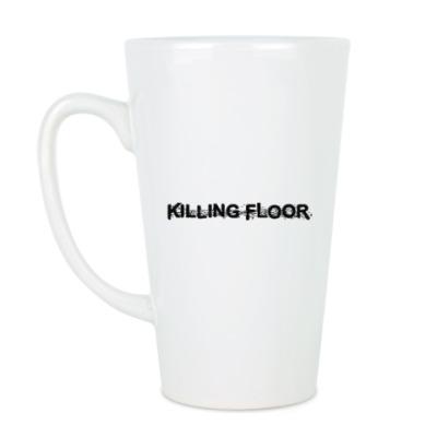 Чашка Латте Большая кружка Killing Floor