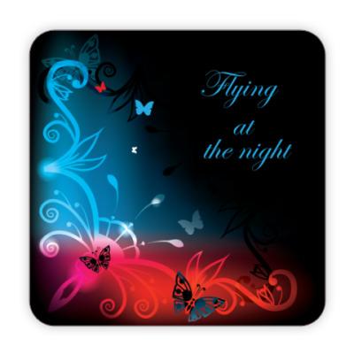 Костер (подставка под кружку) Подставка Ночной полет