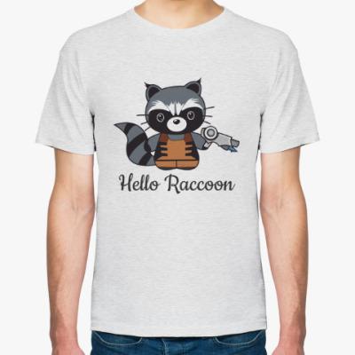 Футболка Hello Racoon