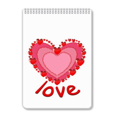 Блокнот LOVE