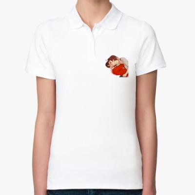 Женская рубашка поло Курт+Блейн