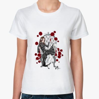 Классическая футболка 'Розы'