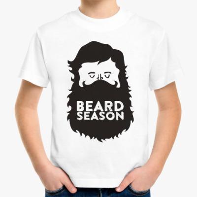 Детская футболка Сезон бородачей Beard Season