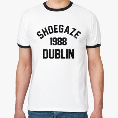 Футболка Ringer-T Shoegaze Dublin 1988