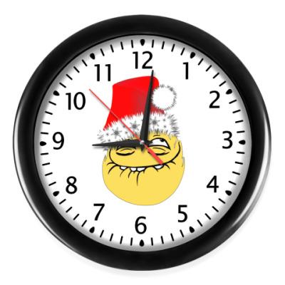 Настенные часы Peka face мем