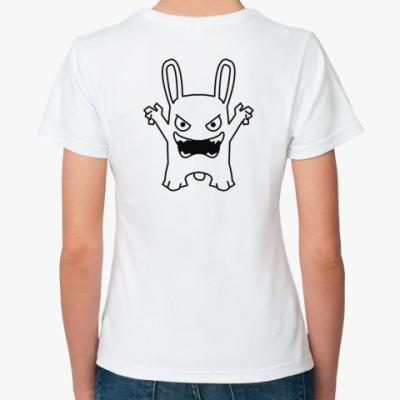 Классическая футболка кролик