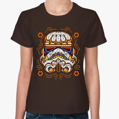 Женская футболка Star Wars Trooper Sugar Skull