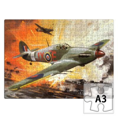 Пазл Hawker Hurricane Boxart пазл