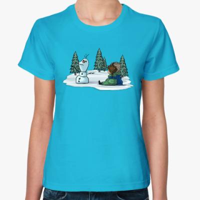 Женская футболка Анна и Эльза