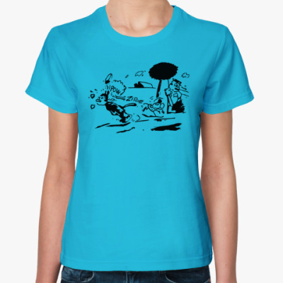 Женская футболка Pulp Fiction - Jules
