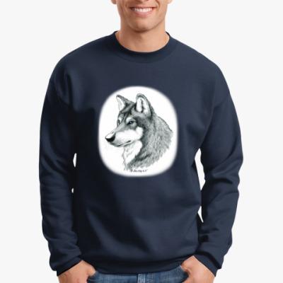 Свитшот 'Лесной волк'