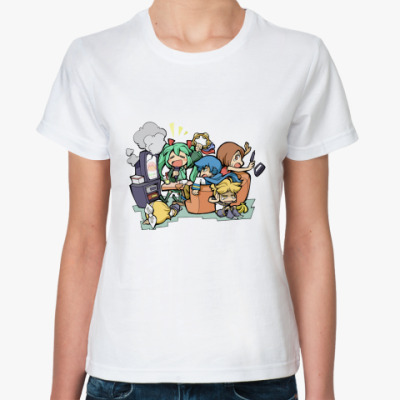 Классическая футболка Vocaloids #02