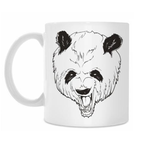 Evil panda bear