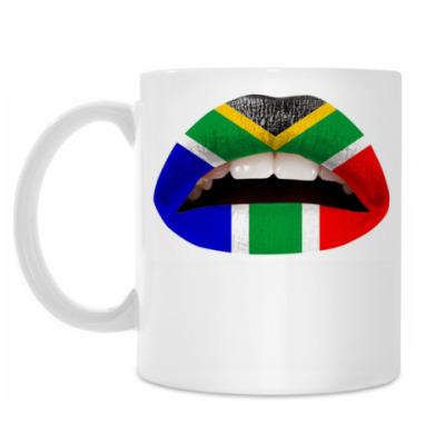 Кружка Африканские Губы (флаг)