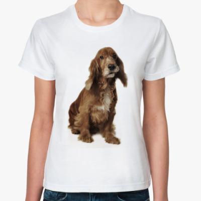 Классическая футболка Dog