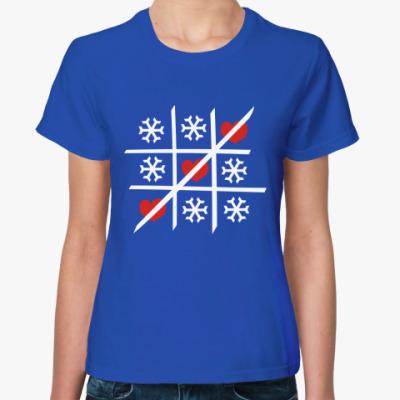 Женская футболка Крестики-нолики