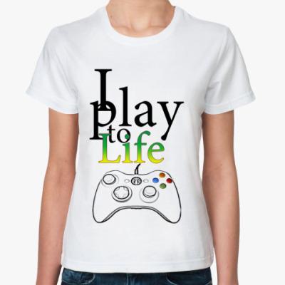 Классическая футболка Play