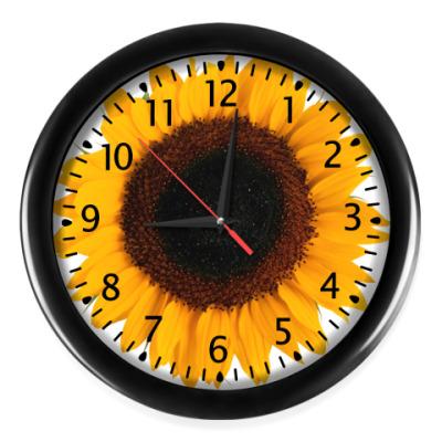 Настенные часы Подсолнушок