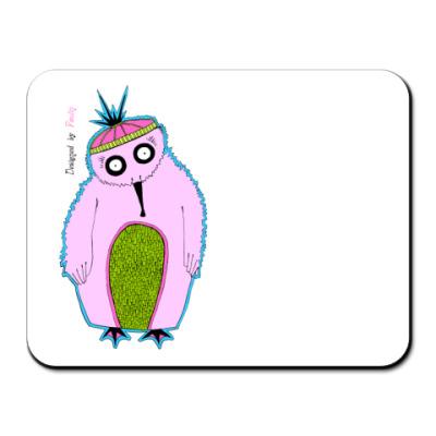 Коврик для мыши  'Пингвин'