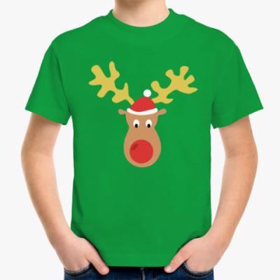 Детская футболка Олень