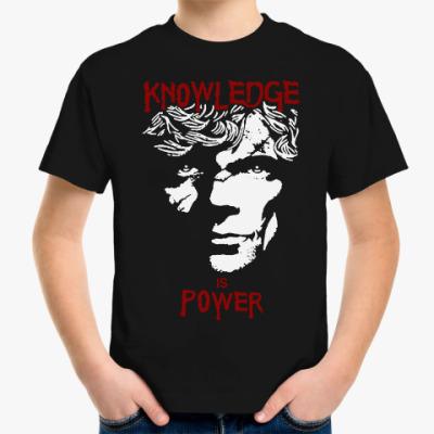 Детская футболка Игра престолов.Тирион