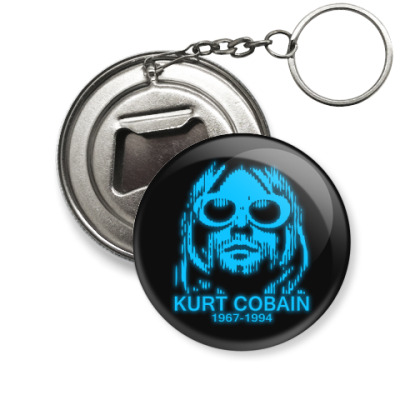 Брелок-открывашка  Kurt Cobain
