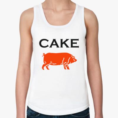 Женская майка Cake