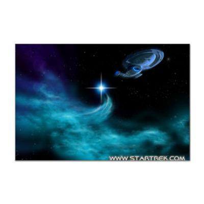 Наклейка (стикер) Star Trek